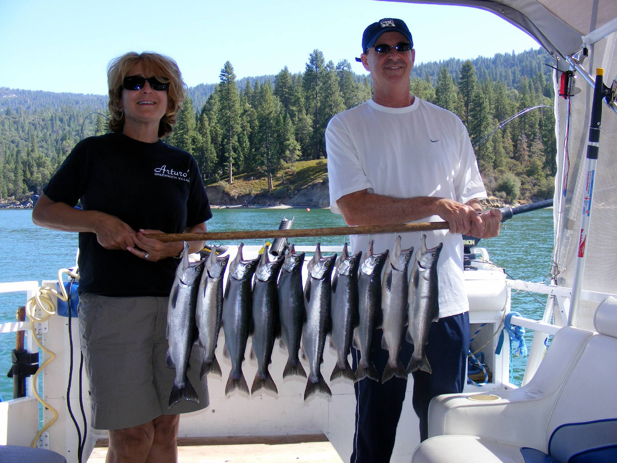 Shaver Lake Amp Bass Lake Fishing Guide Service Kokanee