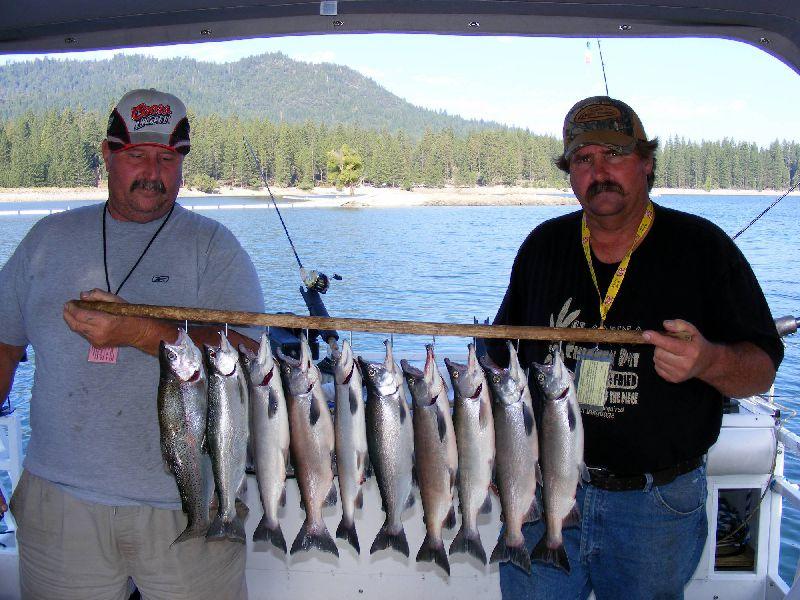 Shaver Lake Amp Bass Lake Fishing Guide Service Kokanee